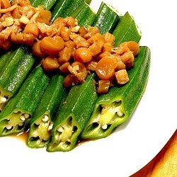 Steam Ladies Fingers With Dried Scallops recipe