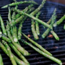 Simple Grilled Asparagus Spears recipe