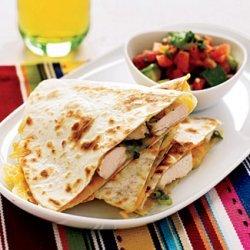 Hummus Quesadilla recipe