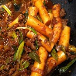 Duk Bok Ki - Korean Spicy Rice Cake recipe
