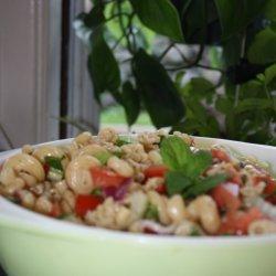 Cold Pasta Salad With Fresh Herb Vinaigrette recipe
