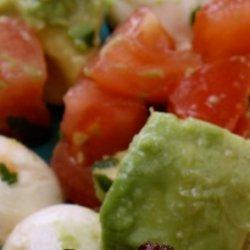 Fresh Mozzarella Pearl Salad recipe