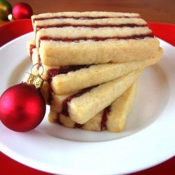Cranberry Cherry Icebox Ribbons recipe