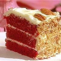 Red Velvet Cake W Cream Cheese Frosting recipe