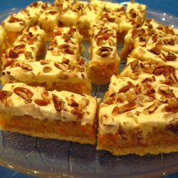 Almonds Orange And Carrot Bars recipe