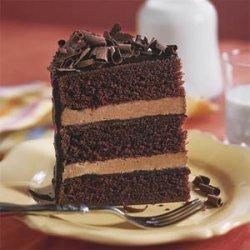 Chocolate Cake With Four Chocolates recipe
