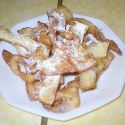 Polish Bow Cookies  - Kruschiki Or Chruschiki recipe