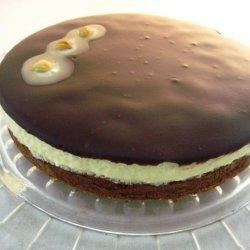 White Chocolate Hazelnut Creamy Cake recipe