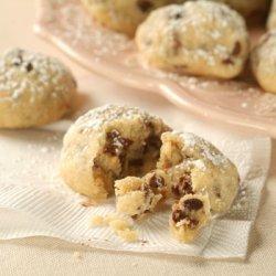 Mini Chocolate Chip Snowball Cookies recipe