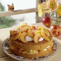Ginger Peach Cake recipe