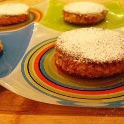 Chocolate Wafer Sandwich With Vanilla Cream And Al... recipe