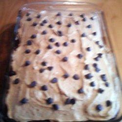 Chocolate Fudge Cake With Peanutbutter Icing recipe