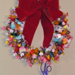 Candy Christmas Wreath recipe