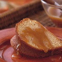 Brown Sugar Bundt Cake With Brown Sugar Sauce recipe
