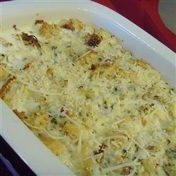 Crab Brunch Casserole recipe