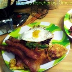 Black Bean Huevos Rancheros recipe