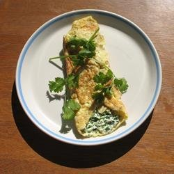 Herbed Cream Cheese Omelet recipe