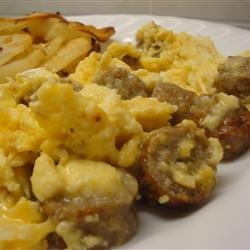 Sausage, Egg, and Cheese Scramble recipe