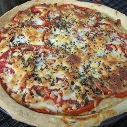 Tomato Sausage Tart recipe