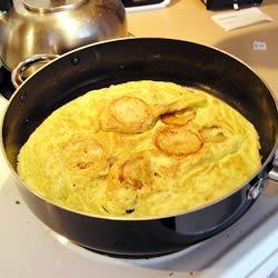 Nan's Potato and Egg Frittata recipe
