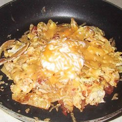 Chilaquiles III recipe