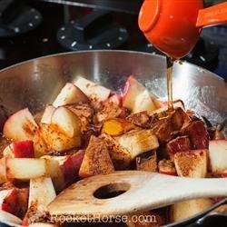 Quinoa Porridge with Cinnamon Apples recipe
