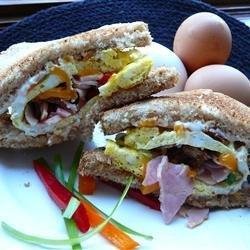 The Breakfast Omwich recipe