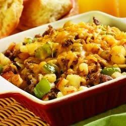 Sausage and Potato Breakfast Skillet recipe