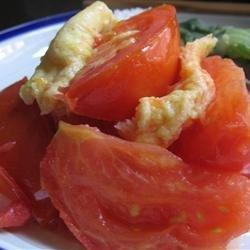 Stir Fry Tomato and Eggs recipe
