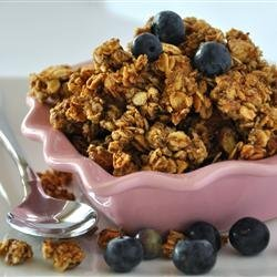 Light Fruit and Nut Granola recipe