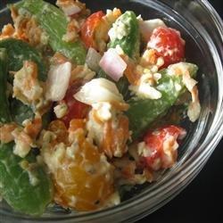 Sugar Snap Pea Salad II recipe