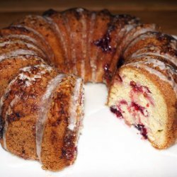 Cranberry Swirl Coffeecake recipe