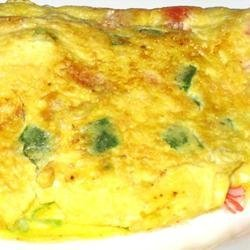 Crab and Swiss Omelet recipe