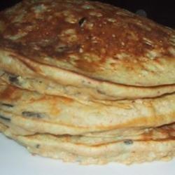 Wild Rice Pancakes recipe