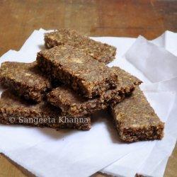 Coconut Flax Bars recipe