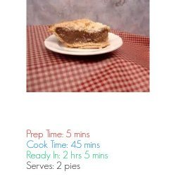 Traditional Shoofly Pie recipe