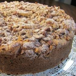 Easy Chocolate Chip Coffee Cake recipe
