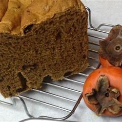 Persimmon Raisin Yeast Bread recipe