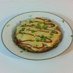 Sunday Morning Asian Frittata recipe