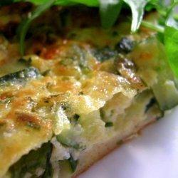 Easiest Zucchini Quiche recipe