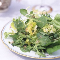 Mixed Green Salad with Tarragon Vinaigrette recipe