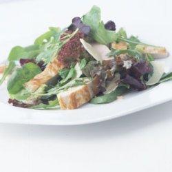 Turkey Cutlet and Parmesan Salad recipe
