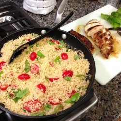 Chicken Salad with Couscous recipe
