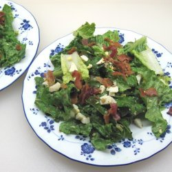 Romaine Salad with Bacon and Hard-Boiled Eggs recipe