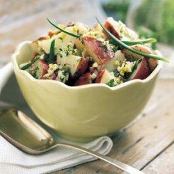 Potato Salad with Toasted Cumin Vinaigrette recipe
