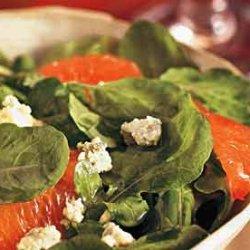 Arugula, Blood Orange, and Blue Cheese Salad recipe