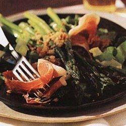 Asparagus and Serrano Ham Salad with Toasted Almonds recipe