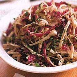 Cabbage Salad with Mustard Vinaigrette recipe
