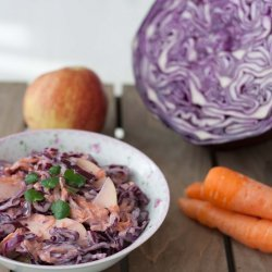 Red Cabbage Coleslaw recipe