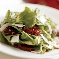 Tomato, Arugula, and Ricotta Salata Salad recipe